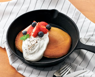 コーヒー香るパンケーキ
