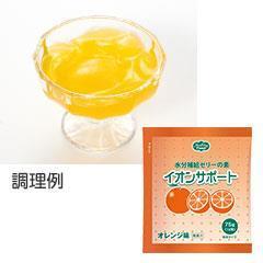 イオンサポート フルーツシリーズ オレンジ味 75g