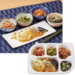 いきいき御膳 白身魚とれんこんの天ぷら