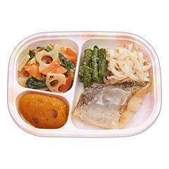 いきいき御膳mini(ミニ) 白身魚の塩焼き