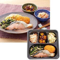 よつば食堂 焼鮭&コロッケ