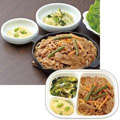 そらまめ食堂 プルコギ(韓国風焼肉)