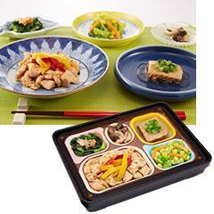 食宅便 低糖質セレクト 鶏肉のハーブガーリックと鮪の生姜煮