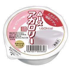 ムースアガロリー いちごミルク味
