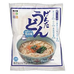 即席ノンカップ麺げんたうどん(つゆ付き)