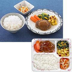 ゆめの食卓 ごはん付き 和風ソースのハンバーグ弁当