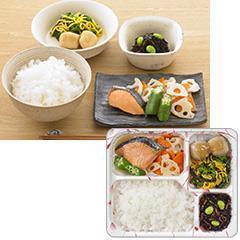 ゆめの食卓 ごはん付き 鮭の西京焼き風弁当