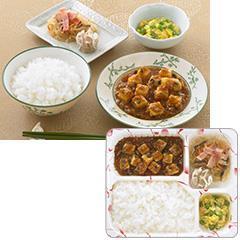ゆめの食卓 ごはん付き 麻婆豆腐弁当