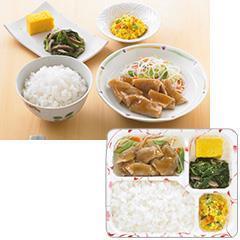ゆめの食卓 ごはん付き 豚肉のしょうが焼き風弁当
