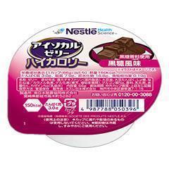 アイソカル・ゼリー ハイカロリー 黒糖風味