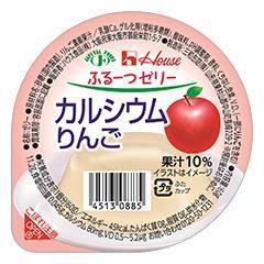 ハウスふるーつゼリー カルシウムりんご