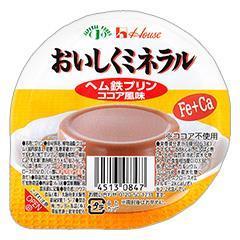 おいしくミネラル ヘム鉄プリン(ココア風味)