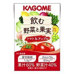 飲む野菜と果実 トマト&アップル