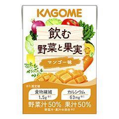 飲む野菜と果実 マンゴー味