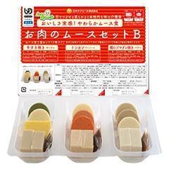 冷凍ムース食 お肉のセットB