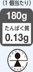 ゆめごはん1/35トレー のたんぱく質