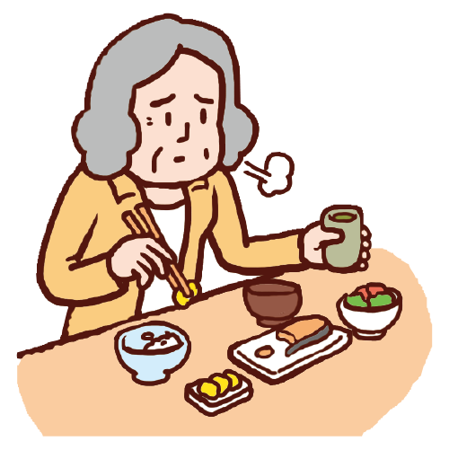 加齢に伴う食欲不振