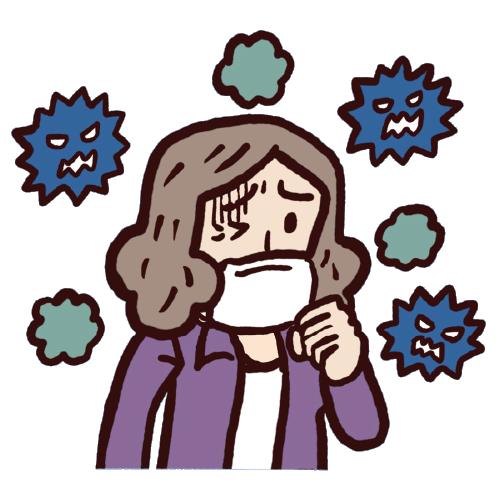 感染症の憎悪